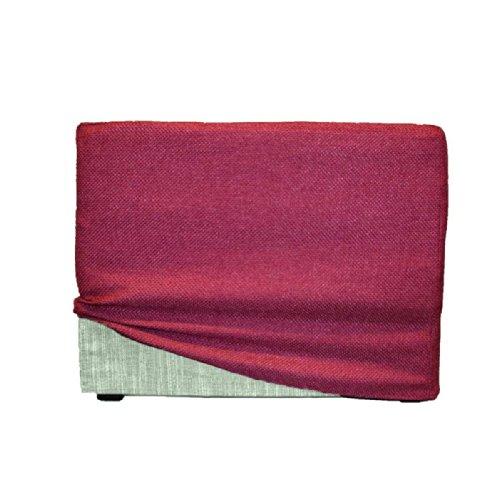 Arketicom touf verde pouf letto singolo che diventa puff e poltrona pieghevole poggiapiedi - Pouf che diventa letto ikea ...