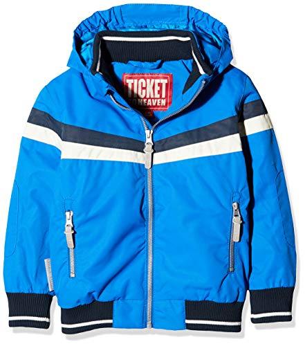 Ticket to Heaven Jungen Bomberjacke Maximilian m. Abnehmbarer Kapuze Jacke Blau (Princess Blue 3123), Herstellergröße: 122