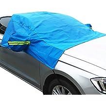 Otoño amor invierno espesada coche parabrisas con elástico y ganchos para prevenir UV viento lluvia nieve hielo para la mayoría de coche