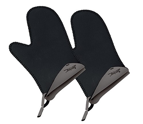 Spring 2094055802 Grips Handschuh kurz 1 Paar, Stoff, grau, 3,4 x 17,5 x 28 cm