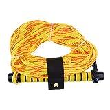 IPOTCH 1 Stück 75ft Wakeboard Wasserski Seil Gelb Motorboot Wakeboard Wasserski Seil Durchmesser: Ca. 0,39 Zoll/10 mm