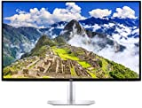 DELL S2719DC LED Display 68,6 cm (27') Wide Quad HD Plana Mate Plata - Monitor (68,6 cm (27'), 2560 x 1440 Pixeles, Wide Quad HD, LCD, 8 ms, Plata)