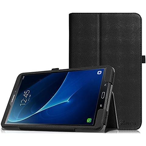 Fintie Samsung Tab A 10.1 Funda - Cuero Vegano Case Stand Funda Carcasa con Auto-Sueño / Estela para Samsung Galaxy Tab A 10.1 2016 T580N / T585N Tablet -