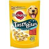 Pedigree Tasty Bites Cheesy Bites Premios Perros para Educar Carne y Queso - Paquete de 6 x 140 gr - Total: 840 gr