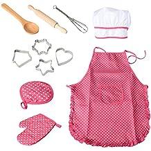 CK Chef Gioco di ruolo Set con vestiti e accessori per la cucina c0d39712399f