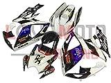LoveMoto Verkleidung für GSX-R600 GSX-R750 K6 2006 2007 06 07 GSXR 600 750 ABS Spritzguss Kunststoff-Motorradverkleidung-Sets Weiß Schwarz