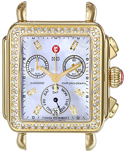 MICHELE Women's MW06P01B0046 Analog Display Swiss Quartz Multi-Color Watch