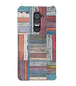 YuBingo LG G2 :: LG G2 Dual D800 D802 D801 D802TA D803 VS980 LS980 Designer Phone Back Case Cover ( Colourful Wooden Pattern )