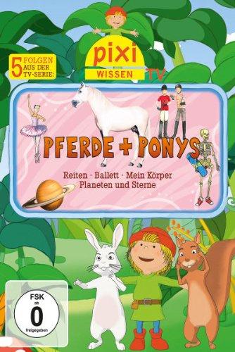 Pferde + Ponys/Reiten/Ballett/Mein Körper/Planeten & Sterne