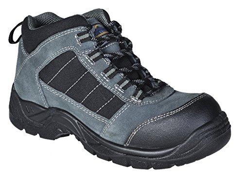 Preisvergleich Produktbild Trekker Sicherheitsschuhe Stiefel Leicht Metallfrei Zehenkappe Rutschfest FC63 - Schwarz, EU 40