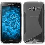 PhoneNatic Custodia Samsung Galaxy J3 Cover trasparente S-Style Galaxy J3 in silicone + pellicola protettiva