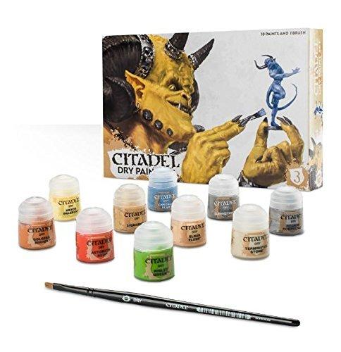 Games Workshop 99179952002Citadel Dry Paint Set Tischplatte und Miniatur-Gaming