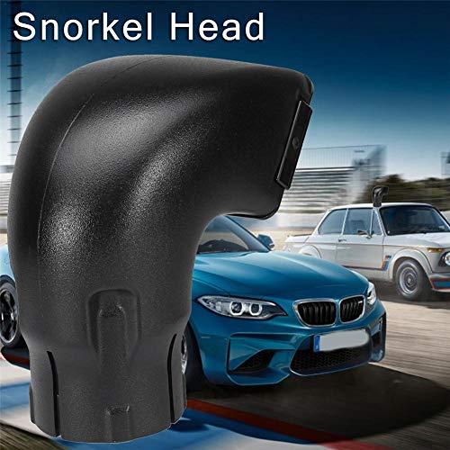 Cherishly Snorkel Head Air Ram Top 3.5 \'\' se Adapta a Toyota Landcruiser VDJ76 / 78/79 - Negro Premium