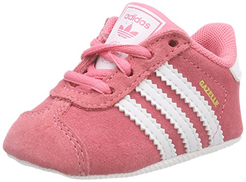 new concept aea80 550f9 adidas Gazelle Crib, Zapatillas para Bebés, Rosa (Chalk Pink Footwear White  0)