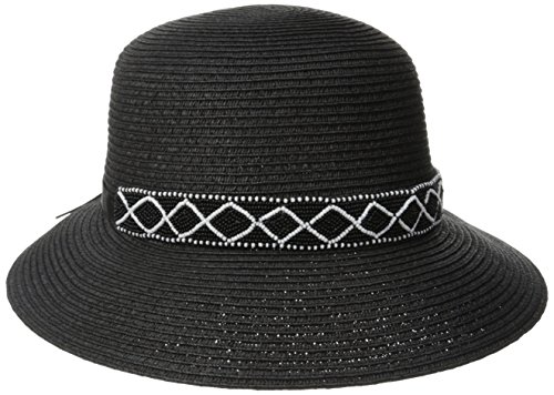 physician-endorsed-womens-diamante-packable-straw-sun-hat-rated-upf-50-black-one-size