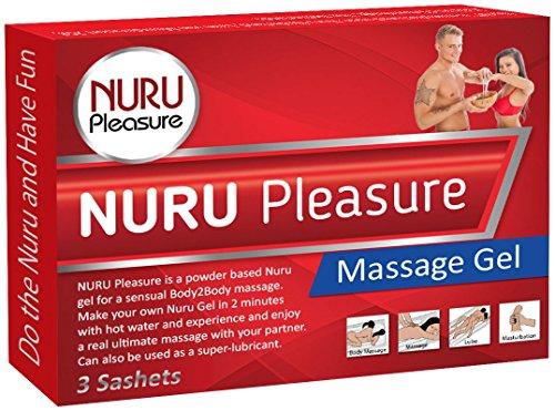NURU Massage Gel Pulver. Machen sie ihre eigenen magischen Nuru Gel, Super Glatt, Geruchlos und Geschmacksneutral, Ideal für nasse Nuru Gel Massagen und erotische Body-to-Body Massage.