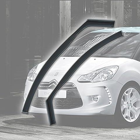 Citroen DS3 (2009 onwards 2DR) Wind Deflectors Rain Wind Window Deflectors