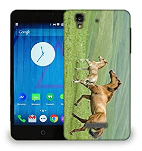 Snoogg Parental Horse Designer Protective Phone Back Case Cover For Micromax YU Yureka AO5510