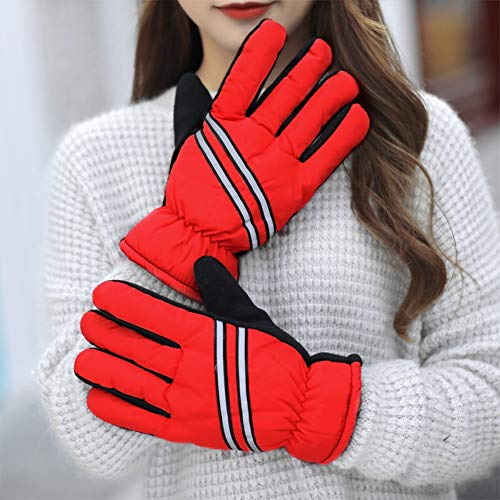 ZhuFengshop Handschuhe Skihandschuhe |Warme Herren Winter wasserdichte Outdoor Ski Sport Handschuhe Verdicken Plus Baumwolle Dicke Motorrad Fahrrad Winter Kalt Schutzhandschuhe, Arbeit, Bauernhof - Spurs-motorrad-handschuhe