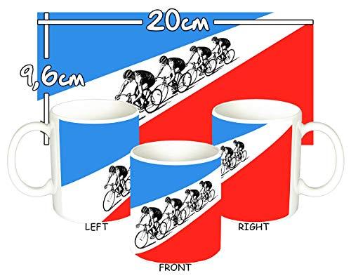 MasTazas Kraftwerk Tour De France Tasse Mug