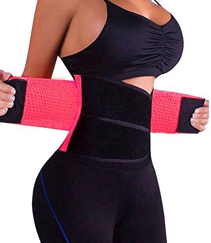 SAYFUT Damen Postpartum Taille Trainer-Gurt-K rper-Former-Gurt eine Sanduhr Shaper X-Large Rosa - Frauen Xl Bindemittel Bauch Für