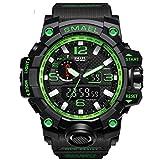 Adisaer Herrenuhren Wasserdicht Wasserdicht Herrenuhr Partner Armbanduhr Multifunktional Schwarz Grün Outdoor Sportuhr Armbanduhr Automatikuhr