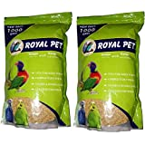 JAINSONS PET PRODUCTS Royal Budgie Foxtail Millet,1000 g - Pack of 2