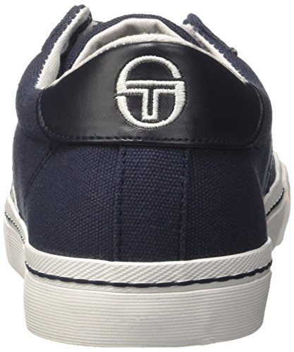 Sergio Tacchini Herren Positano Canvas Low-top Blu (navy)