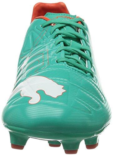Puma evoPOWER 3 FG Herren Fußballschuhe Orange (pool green-white-grenadine-turbulence 07)