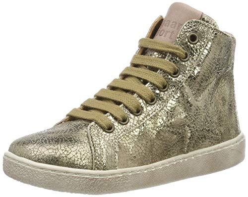Bisgaard Mädchen Gaia Hohe Sneaker, Braun (Stone 419), 39 EU