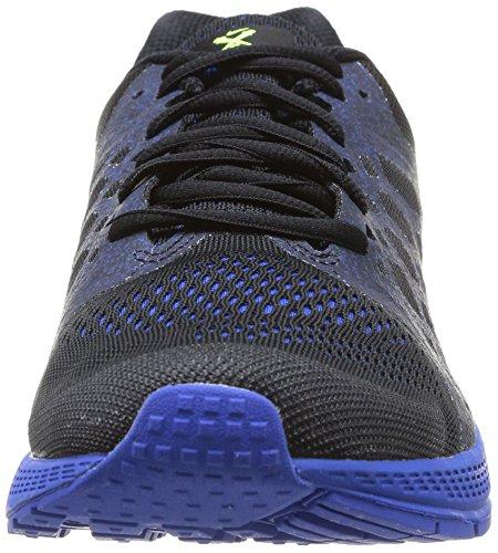 Nike 652925 002 Zoom Pegasus 31 Herren Sportschuhe - Running Mehrfarbig (BLACK/VOLT HYPER COBALT)