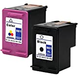 InkTonerBox HP 901XL Ink Cartridges 1 Black & 1 Color for Officejet 4500/J4500/J4580 - Assorted Colour (Pack of 2)