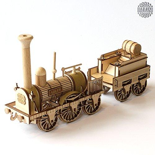 damasu BS_SAX207 / Bausatz-Modellbau Eisenbahn ADLER gebraucht kaufen  Wird an jeden Ort in Deutschland