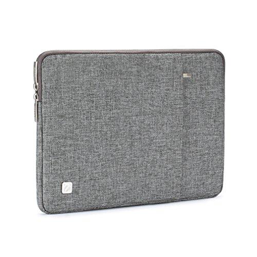 NIDOO 14 Zoll Wasserdicht Laptop Sleeve claim Notebook Hlle Schutzhlle Tasche Laptoptasche fr 14 HP approach 14 Pavilion 14 Lenovo Yoga 710 14 ThinkPad A475 Laptop Grau Hllen