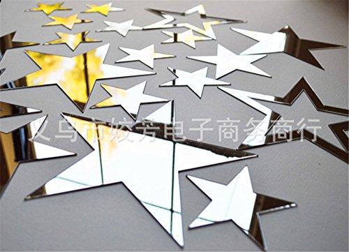 CHENOOXX Diy kunst Flash stars Wandspiegel Kinder Papier Designs