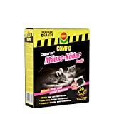 COMPO Curamax Mäuse-Köder Paste, Anwendungsfertige Portionsbeutel gegen Mäuse, 200 g