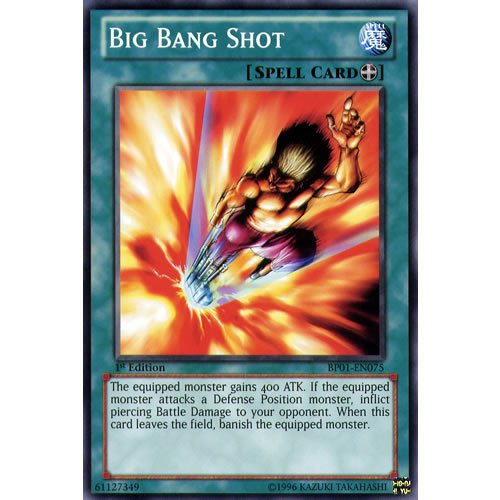 5 1st Ed-Big Bang Shot Star carte Rare combat-Dawn Yu-Gi épique Pack-Oh Cartes simples) ()