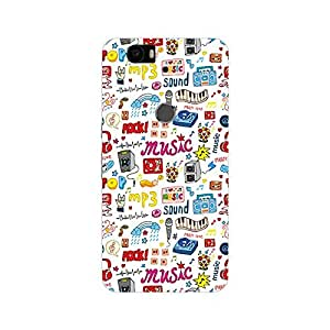 Huawei Nexus 6P Cover, Premium Quality Designer Printed 3D Lightweight Slim Matte Finish Hard Case Back Cover for Huawei Nexus 6P-Giftroom-829