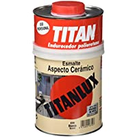 Titan 4200 - Esmalte ceramica Titanlux aspecto ceramico blanco brillante 750 ml