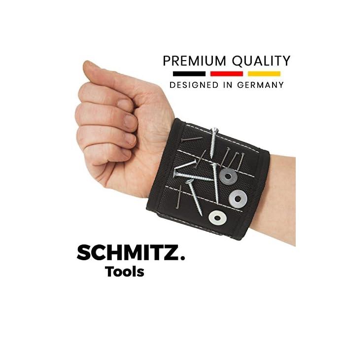 Magnetarmband für Handwerker – Werkzeug Geschenk: Magnetisches Armband für Schrauben und Nägel. Beste Baumarkt Geschenk zum Geburtstag - Ostergeschenke für Männer - Geschenke für Männer