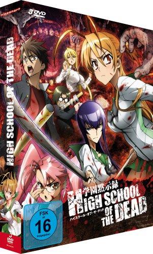 Highschool of the Dead - Gesamtausgabe [3 DVDs]