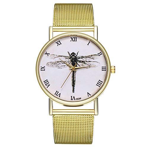 IG Invictus Vintage Ladies Round Mesh Strap Watch Quartz Fashion Watch Quarzmaschengürtel Modeuhr T335 W MIT Mode, Uhren, Quarz -