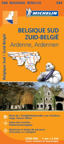 Descargar Libro Carte Belgique Sud (Ardenne) Michelin de Collectif MICHELIN