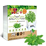 Seed Box 00104-Kit d'Initiation à l'orto Urbain cultívame-Menthe