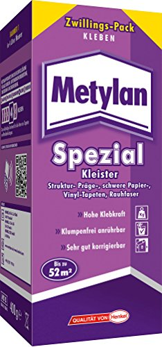 Metylan Spezial Tapetenkleister, 1 Paket à 400 g Stück, MS15