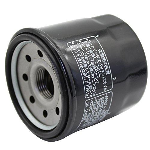 cyleto Filtro de aceite para VTX1300 Retro 2004/VTX1300R VTX 1300R 2005 - 2009/VTX 1300 C 2004 - 2009