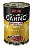 Animonda Gran Carno Fleisch Pur Adult Rind + Pute, 6er Pack (6 x 400 g)