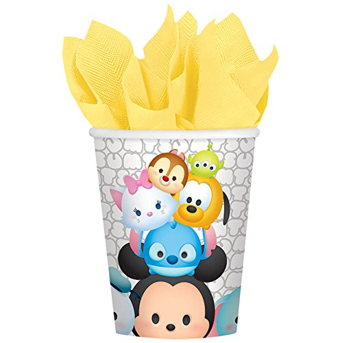 Disney Tsum Tsum Party Supplies 9oz Paper Cups (8)