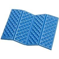 EVA Foam Foldable Folding Seat Cuchion EVA Pad EVA Kneeler Camping Outdoor Cushion - Blue (Blue)