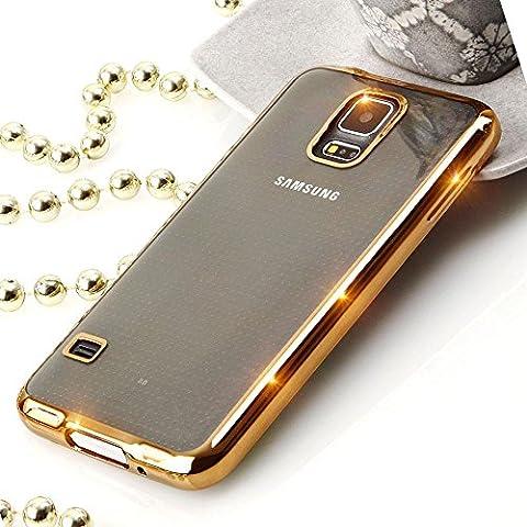 EGO® Silikon TPU Chrom Case Schutz Hülle für Samsung Galaxy
